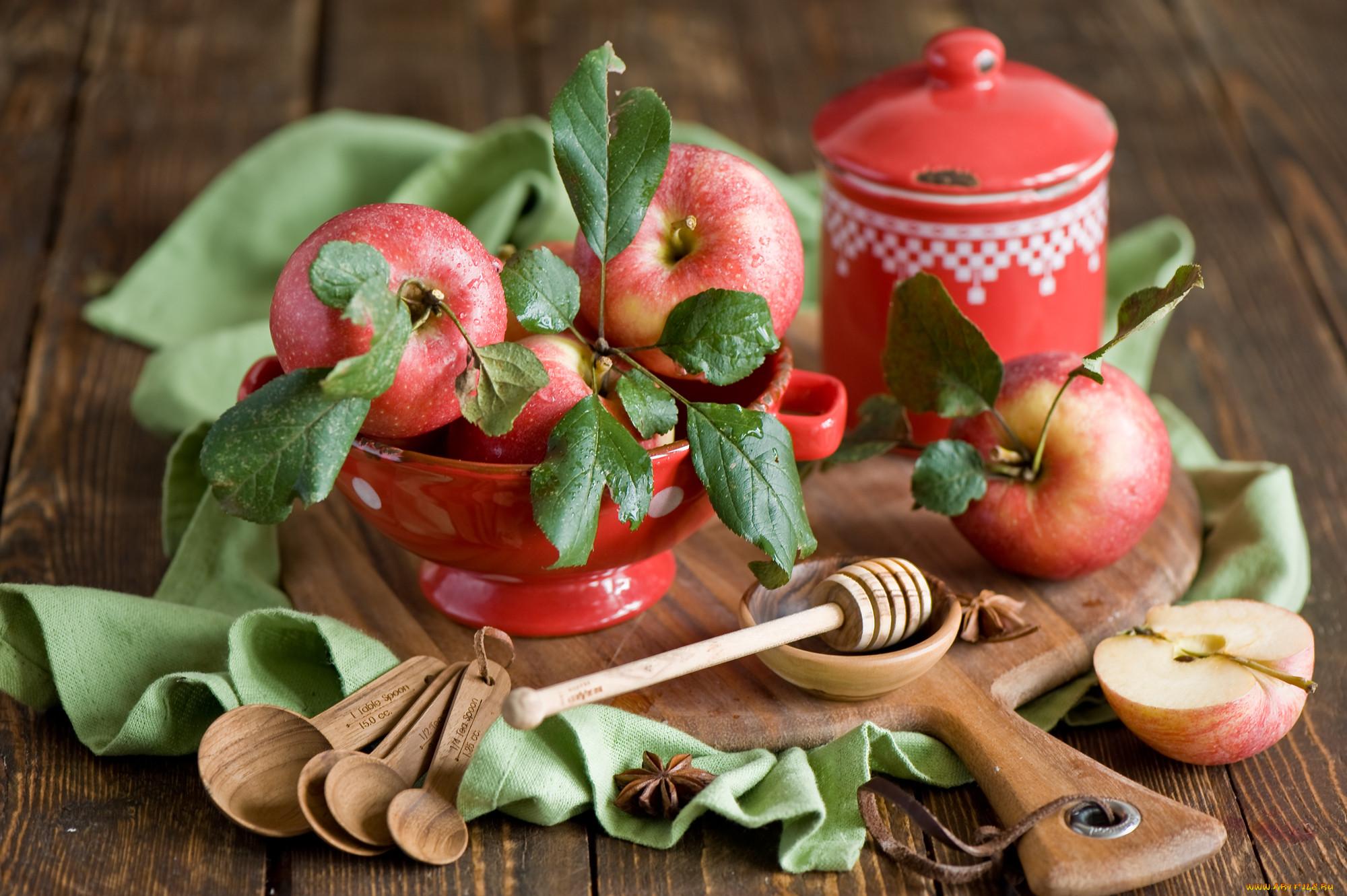 еда из яблок картинки давно сидишь